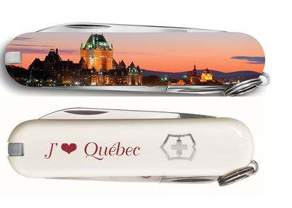 Swiss Army Spartan - Quebec Skyline Edition