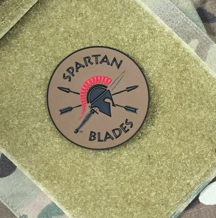Spartan Blades Logo Patch