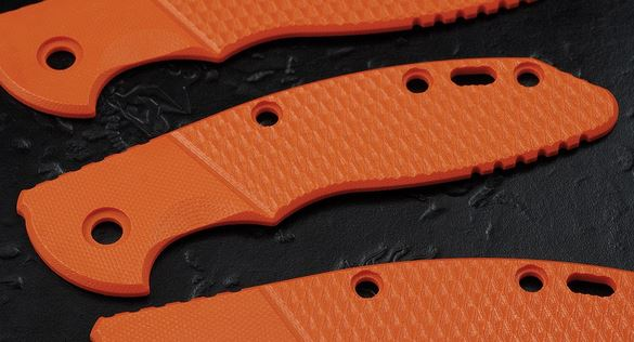 Hinderer G-10 Faux Bolster Handle Scale for XM-18 3.5 - Orange