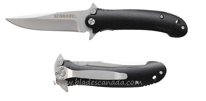 Schrade 223 Dual Guard Folder Plain Edge (Online Only)