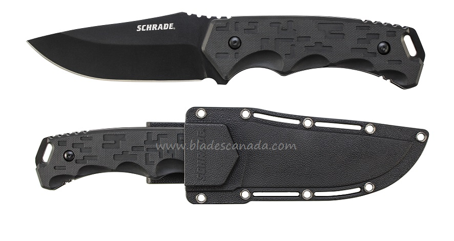 Schrade F32 Clip Point w/ Multi-Carry Sheath (Online Only)