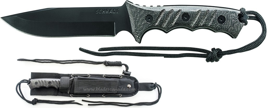 Schrade F3N Extreme Survival Micarta Clip Point