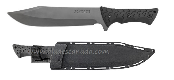 Schrade F45 Leroy Bowie w/ Molded Nylon Sheath