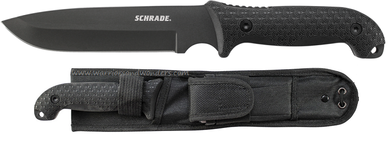 Schrade F52 Frontier Long 1095 Fixed Blade TPE