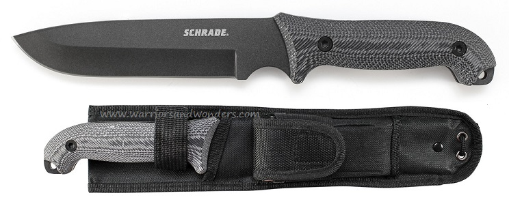 Schrade F52M Frontier Long 1095 Fixed Blade Micarta (Online Only)