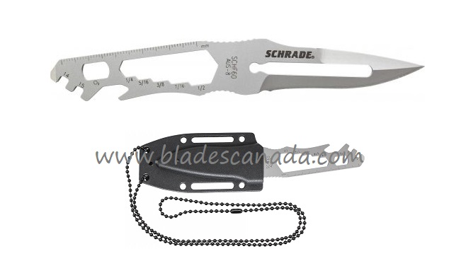 Schrade F60 Multi-Purpose Neck Knife (Online Only)
