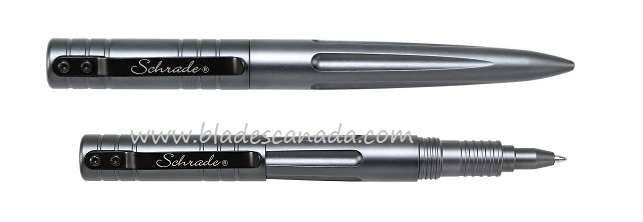 Schrade PENG Tactical Aluminum Pen- Gray (Online Only)