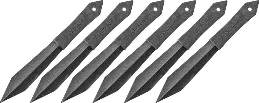 Schrade TK6CP Throwing Knives - Set of Six (Online Only)