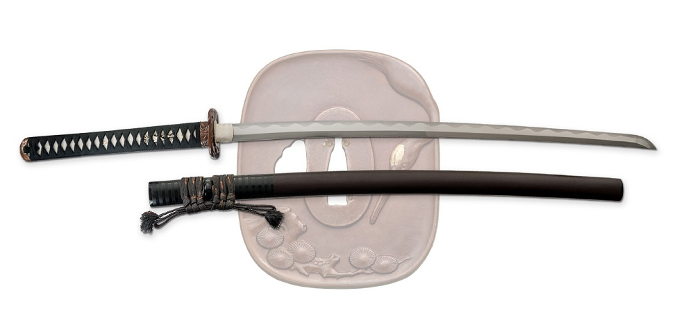 Dragon King Pine Crane Katana SD35290
