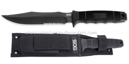 SOG Seal Team SE37N Elite W/ Nylon Sheath