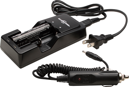 Surefire 18650 Battery & Charger Kit