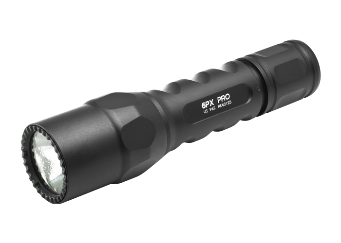 Surefire 6PX-D-BK Dual Output LED FLashlight- 15/600 Lumens