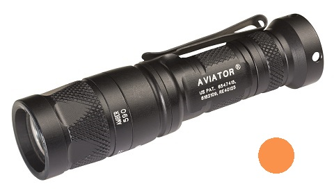 Surefire Aviator Multi-Spectrum LED 5/250 Lms - Amber Light