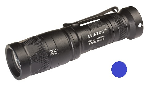 Surefire Aviator Multi-Spectrum LED 5/250 Lms - Blue Light