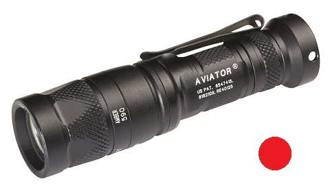 Surefire Aviator Multi-Spectrum LED 5/250 Lms - Red Light
