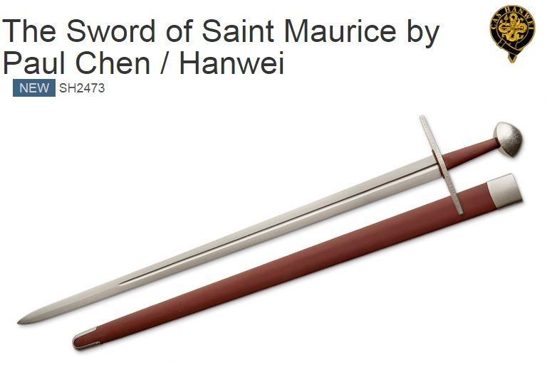 Hanwei Sword of Saint Maurice SH2473