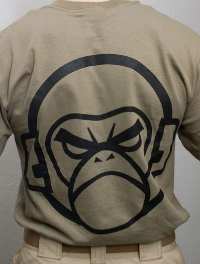 Mil-Spec Monkey Shirt - Monkey Logo