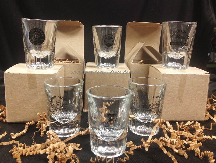DPX SG6 Shot Glasses - Set of Six