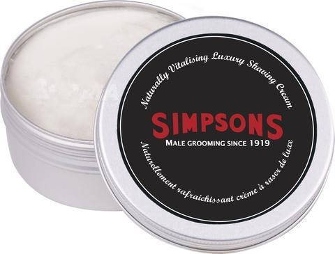 Simpsons Shaving Cream 125ml - Luxury