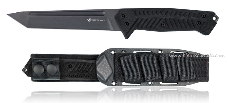 Steel Will Adept 1010 Tanto w/ Kydex MOLLE Sheath