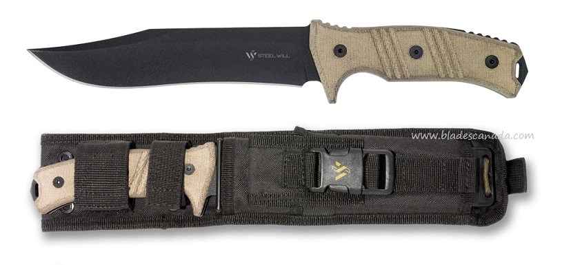 Steel Will Chieftain 1610 w/ Nylon Sheath
