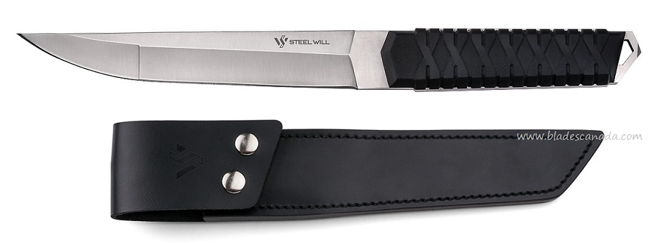 Steel Will Courage 310 w/ Leather Sheath