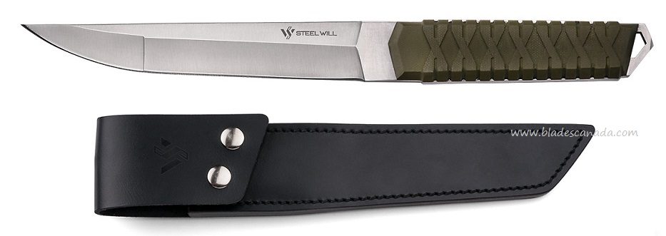 Steel Will Courage 311 w/ Leather Sheath