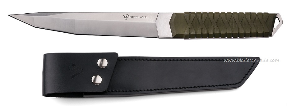 Steel Will Courage 321 Tanto w/ Leather Sheath