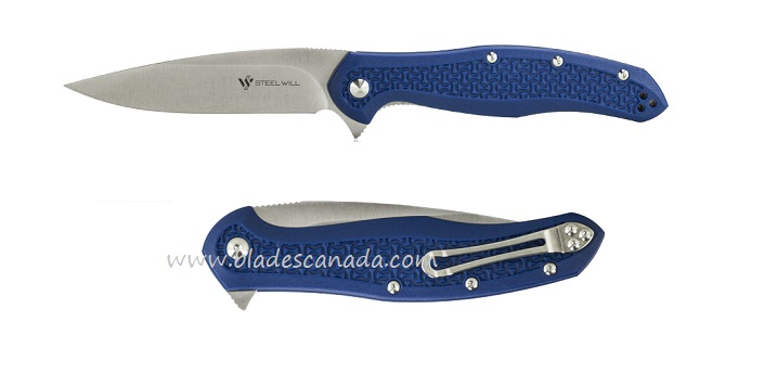 Steel Will F45-16 Intrigue D2 Satin - Blue