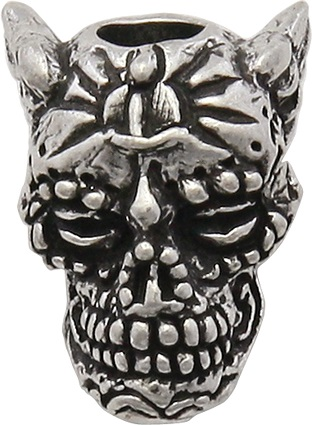Schmuckatelli Co. Aquilo Sugar Skull Pewter