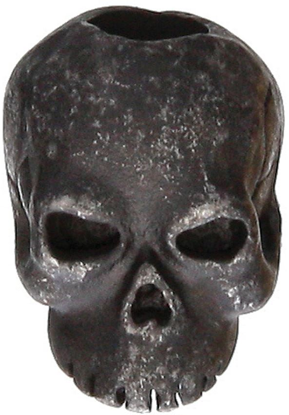 Schmuckatelli Co. Classic Skull Bead Black Oxide