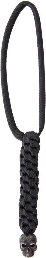 Schmuckatelli Co. Classic Bead Pewter Black with Black Lanyard