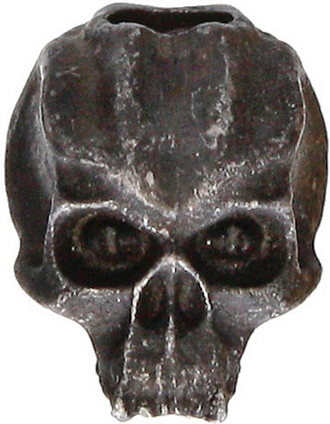 Schmuckatelli Co. Cyber Skull Bead Black Oxide