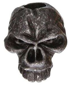 Schmuckatelli Co. Emerson Skull Bead - Black Oxide