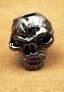 Schmuckatelli Co. Emerson Skull Bead - Hematite
