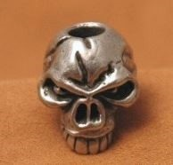 Schmuckatelli Co. Emerson Standard Skull Bead Pewter