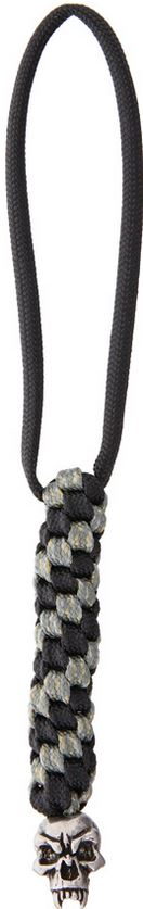 Schmuckatelli Co. Fang Bead Pewter with Digi Lanyard