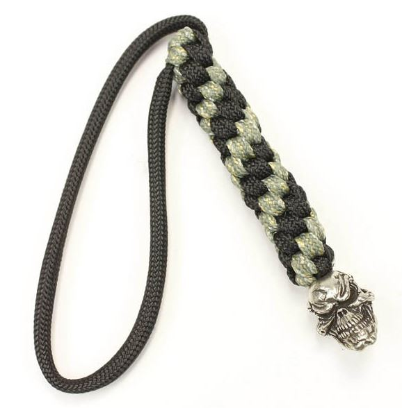 Schmuckatelli Co. Grins Bead Pewter with Digi Lanyard