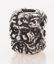 Schmuckatelli Co. Green Man Bead Pewter