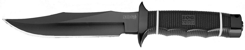 SOG S10B Tech Bowie Black TiNi Blade (Online Only)