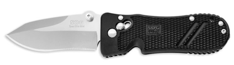 SOG Pentagon Mini SE01 Spec Elite Plain Edge (Online Only)