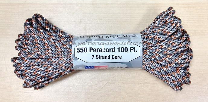 550 Paracord, 100Ft. - Spy