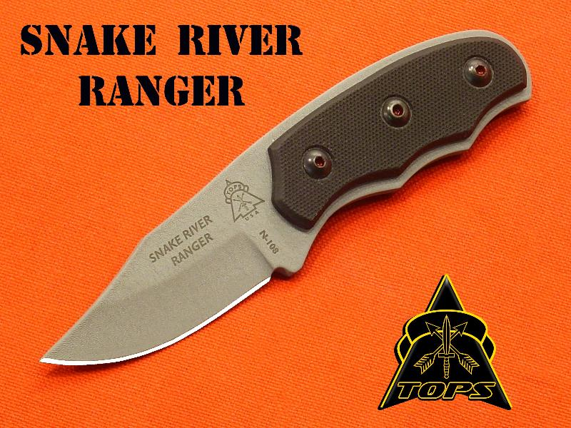 TOPS SRR01 Snake River Ranger w/Kydex Sheath