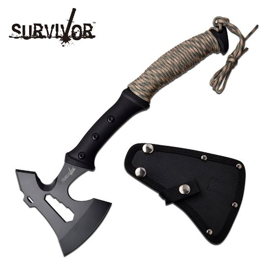 MC Survivor Axe Camo w/ Nylon Sheath SVAXE001CA (Online Only)