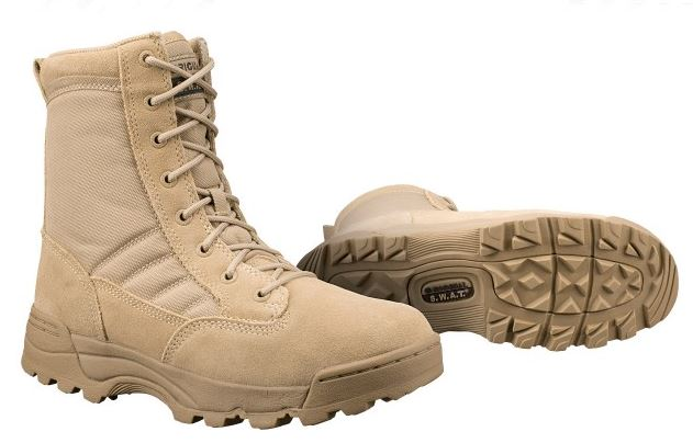"Original SWAT 115002 Classic 9"" Boot - Tan"
