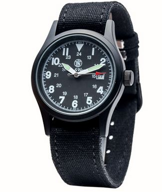 Smith & Wesson W1464BK Military Watch - Black