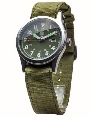 Smith & Wesson W1464OD Military Watch - OD Green
