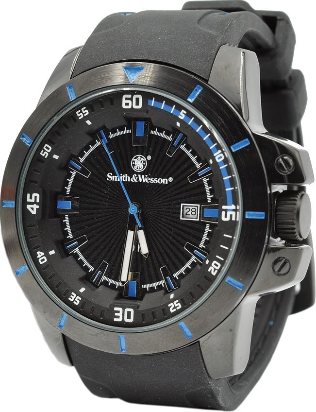 Smith & Wesson 397BL Trooper Watch - Blue