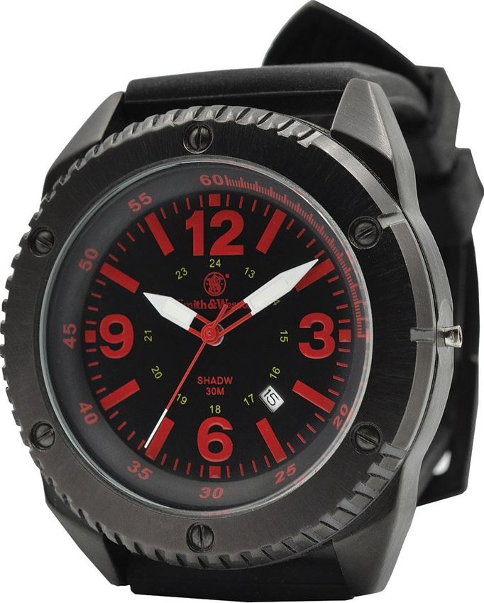 Smith & Wesson W693BK Extreme Watch - Black and Red