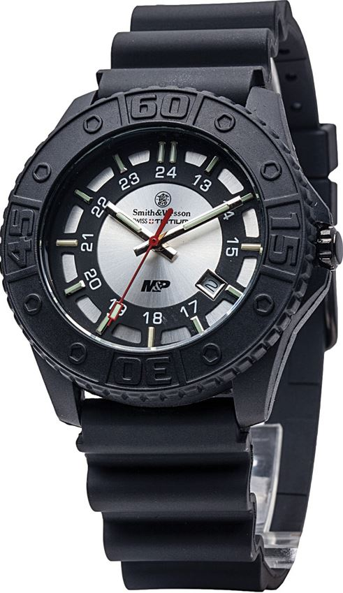 Smith & Wesson MP18GRY M&P Watch - Silver